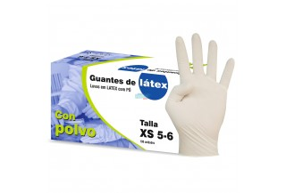 GUANTES LATEX T/MEDIANA
