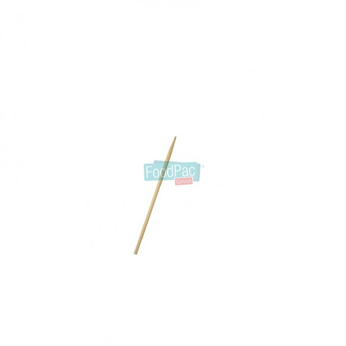 BROCHETA MADERA SIMPLE 200X3 MM