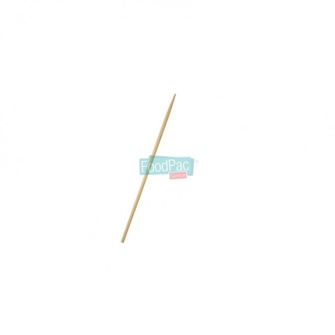 BROCHETA MADERA SIMPLE 250X3 MM