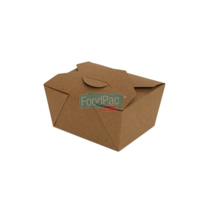 CAJA CARTON MARRON BIO 130X105X65MM BASE 197X140X6