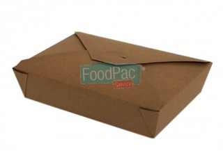 CAJA CARTON MARRON BIO 215X160X50 MM BASE 197X140X