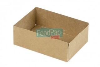 CAJA CARTON MARRON SIN TAPA 140X100X50MM