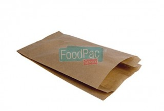 BOLSA PAPEL CELULOSA MULTIUSO MARRON 140X60X280MM