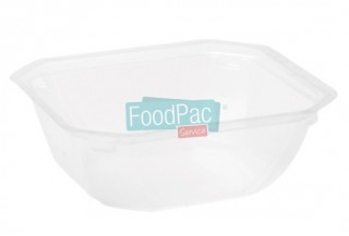 BANDEJA EAT-IN-IT TRANSLUCIDA 750CC - 156X156X55MM