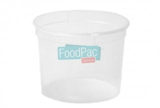 POT TRANSPARENT PP 1000CC 120X99X125MM