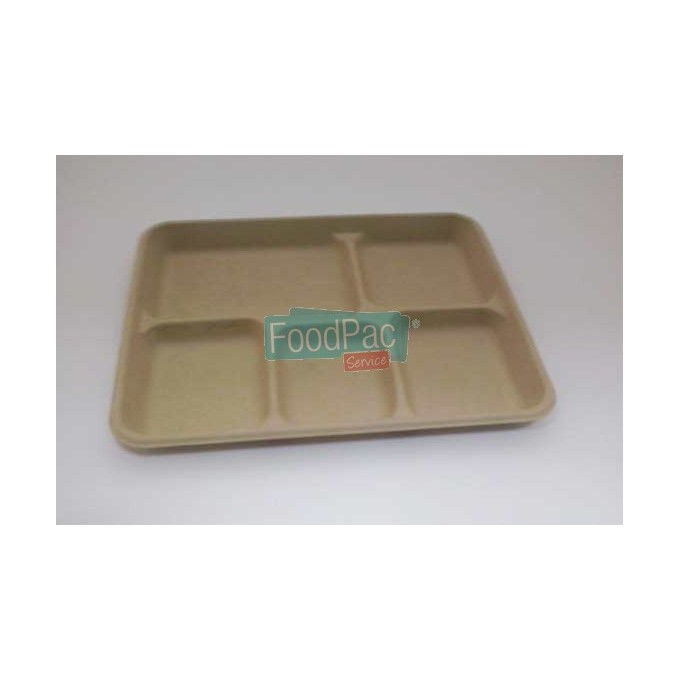 BANDEJA PULPA COMPARTIM 265X215X25MM