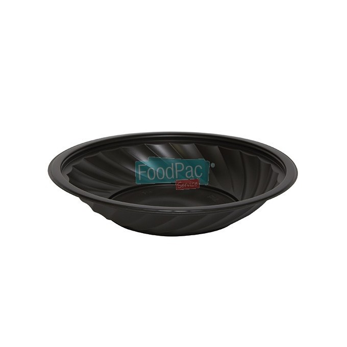 PLATO SELLABLE PP NEGRO 220X43MM