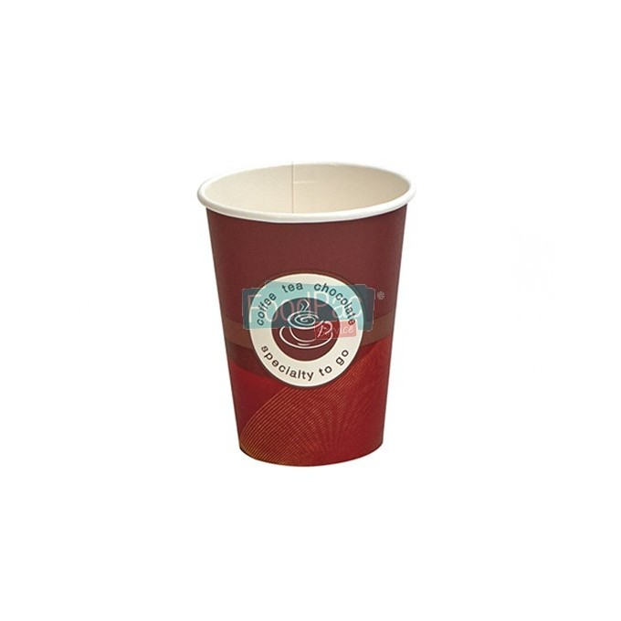 VASO CARTON DECOR 296CC (10 OZ) SP12 80MM