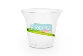 VASO COMPOSTABLE PLA 9 OZ 96X80MM