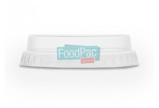 TAPA COMPOSTABLE PLA PLANA SIN AGUJERO 76MM