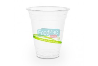 VASO COMPOSTABLE PLA 12 OZ 96X105MM