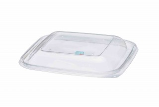 TAPA ENVASE TRANSPARENTE PET 190X190X17MM