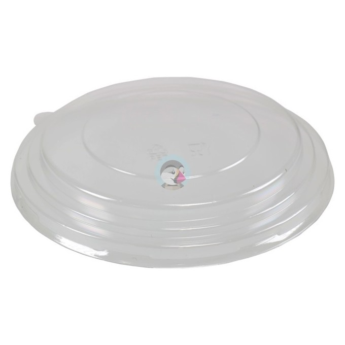TAPA PLA COMPOSTABLE PARA BOTE KRAFT 1300CC 185MM