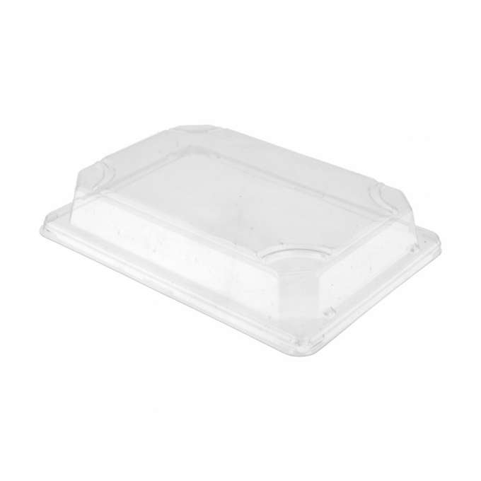 TAPA PS PARA BASE PULPA ENVASE DE SUSHI 185X139X15MM